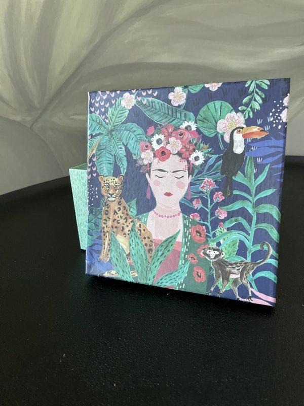 schaal Frida Kahlo tropisch