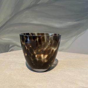 vaasje theelichtje glas Fidrio luipaard