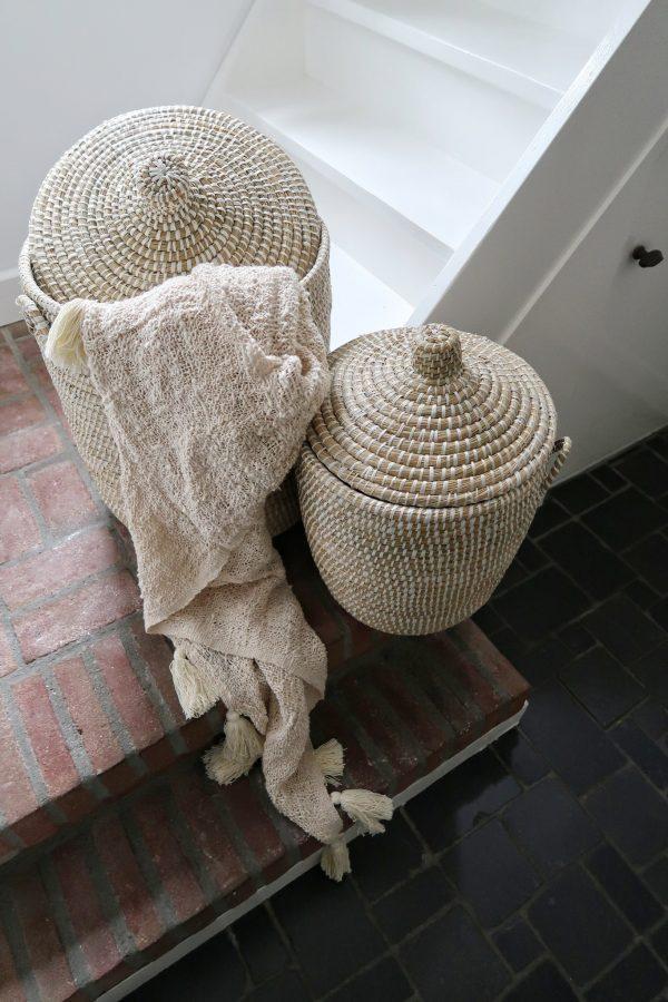 wasmand badkamer zeegras opbergmand Yoshiko