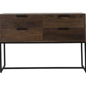 sidetable hout donker bruin
